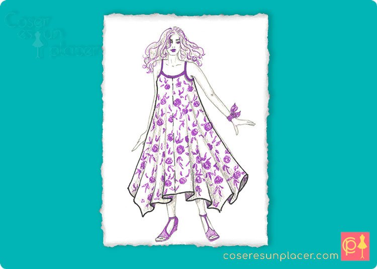 Cómo Hacer Un Vestido Veraniego De 4 Pañuelos O 2 Fulares